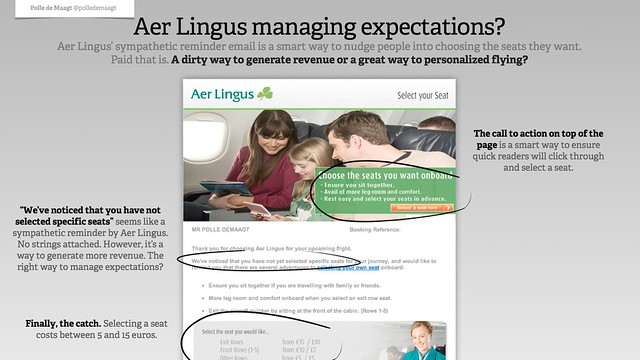 Aer Lingus managing expectations?
