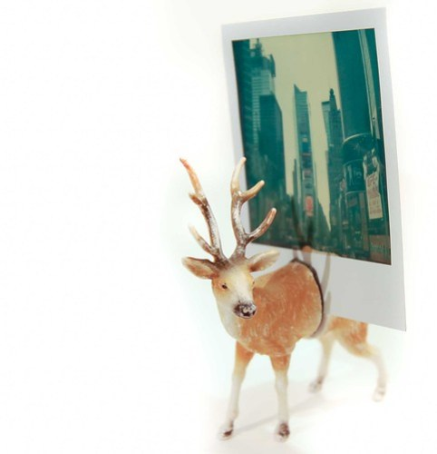 Deer Photo Holder
