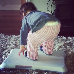 Wii fit like mummy
