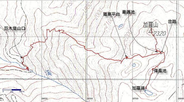山行者豪哥HaoLite: 2011加羅湖順訪加羅山(一)