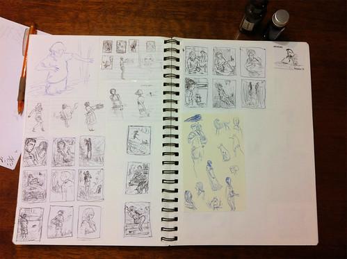 Rough sketches for Undine Love