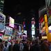 en del färger, på Times Square!