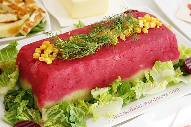 renkli patates salatasi