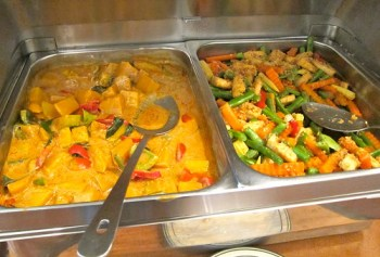 curry and vegetables
