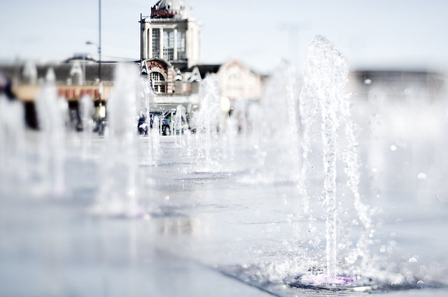 Kursaal Fountain Tilt