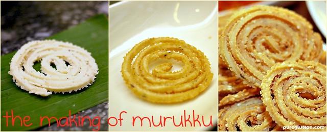 making of murukku