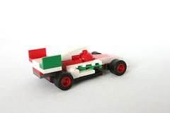 8423 World Grand Prix Racing Rivalry Francesco Bernoulli Rear