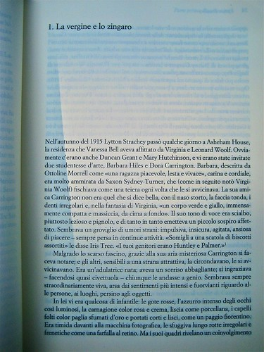 Michael Holroyd, Litton Strachey. ilSaggiatore 2011; [resp. grafica non indicata], alla cop.: Dora Carrington: Lytton Strachey ©the gallery collection/Corbis. Incipit, (part.), 1