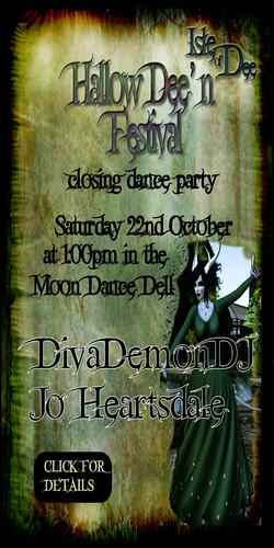 Closing dance Hallow'Dee'N
