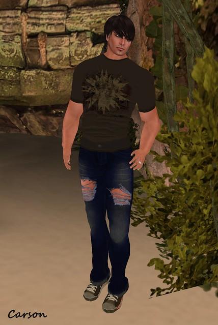 [ B!ASTA ] GREEDY MUTANT MOTHS Jeans & shirt for D2B3