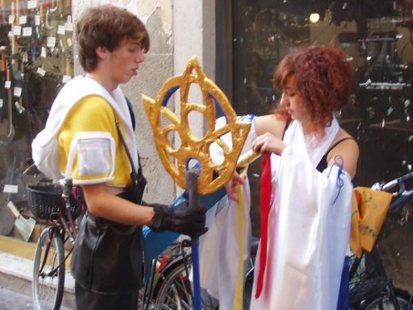 Tidus, Yuna cosplay
