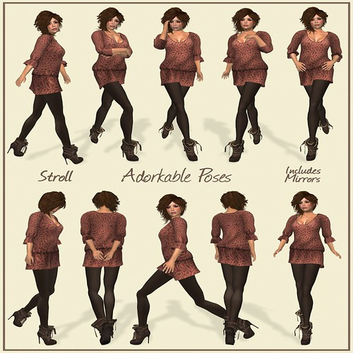 Stroll Poses by Adorkable @ The Deck