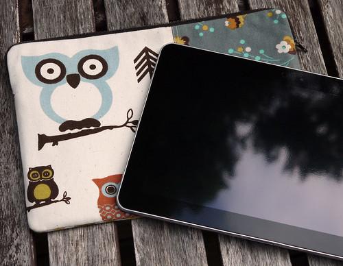 Owl Galaxy Tab Sleeve