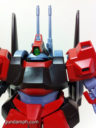 MG Rick Dias Quattro Custom RED Review OOB Build (49)
