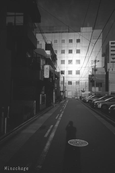 In the morning in Nagoya