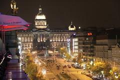 View from Duplex Club in Prague