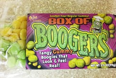 Box of Boogers - Gummy Halloween Candy