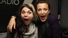 Caitlin Moran with Annie Mac