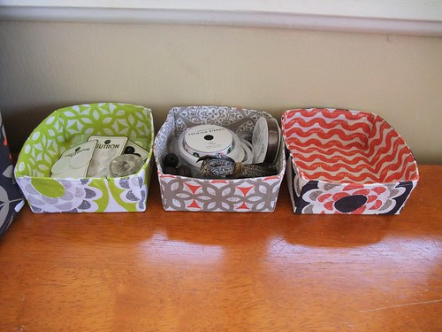 Fabric Baskets 3