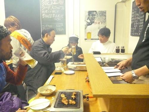 気仙沼横丁「狼煙」, 南三陸町戸倉波伝谷でボランティア(レーベン1号) Volunteer at Tokura, MInamisanrikucho, Miyagi pref. Deeply Affected by the Tsunami