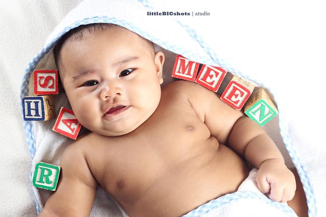 Introducing Sharmeen   Baby Studio Portraiture