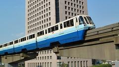 東京モノレール1000形特別塗装車(Tokyo Monorail, 1000 Type, Special Paint)