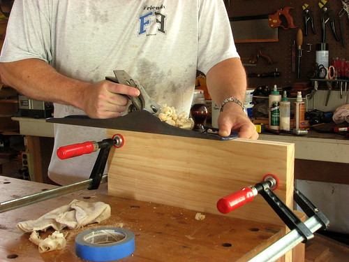 Sawbench Planing to Width