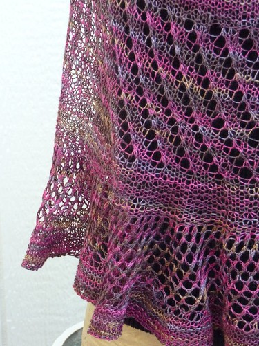 Radiance shawl - detail