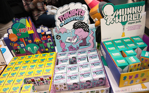 Thoughts in Jeremyville @ DesignerCon 2011
