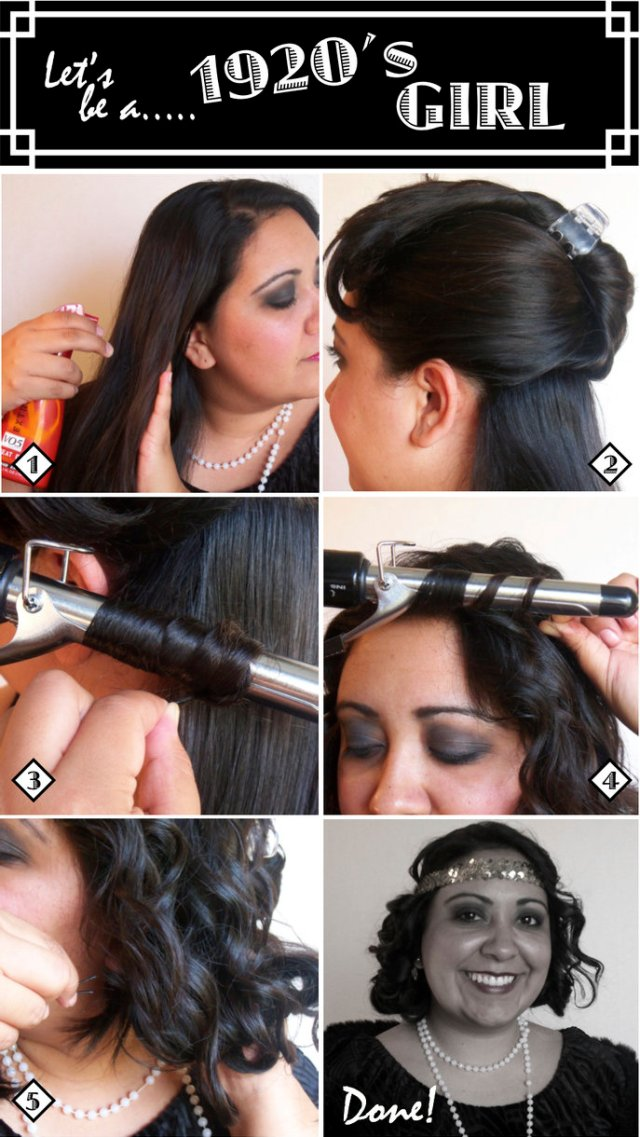 the style dossier: how to do flapper/1920's hair