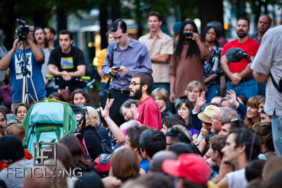 John Lewis' Blocker Speaks   #OccupyAtlanta General Assembly Woodruff Park 10/07 Occupy Atlanta #OccupyWallStreet