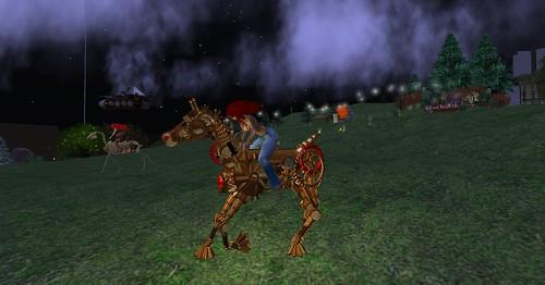 Steam Horse!
