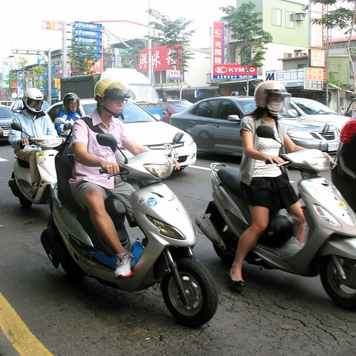 Moped drivers
