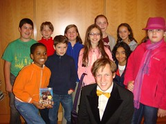 OPL Kids with James Kennedy after the Film Festival