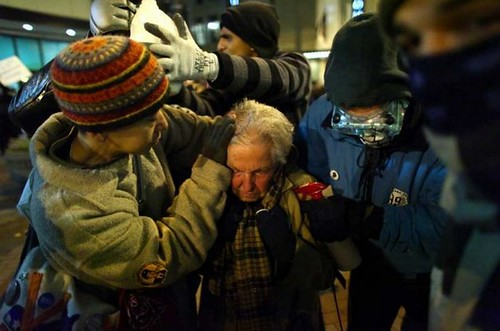 Seattle 84-year old peppersprayed 2