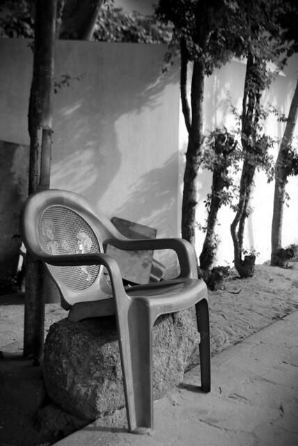 Chaise bipède