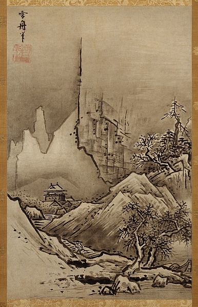 Sesshū Tōyō, Fall and Winter Landscape.