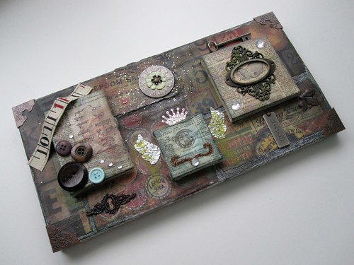 Tim Holtz Style Collage