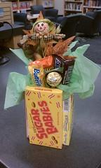 a candy bouquet!