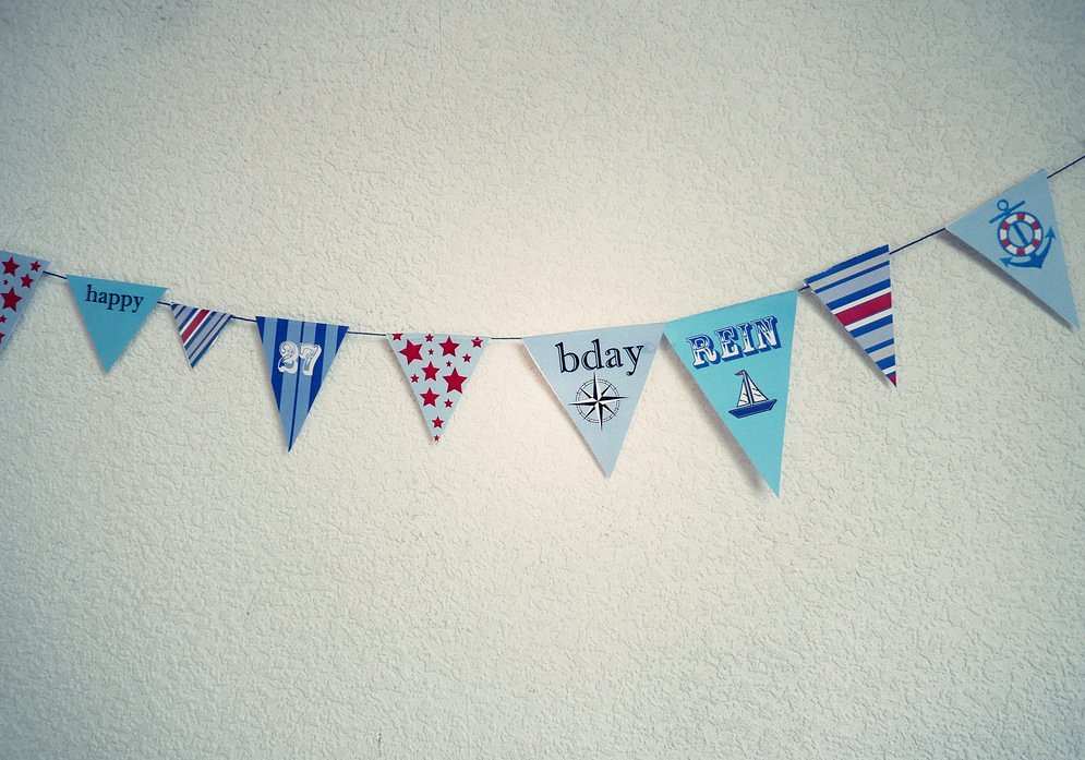 custom flags for party