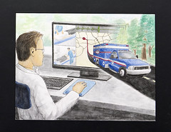 """Super Ambulances: Telemedicine on the Go..."