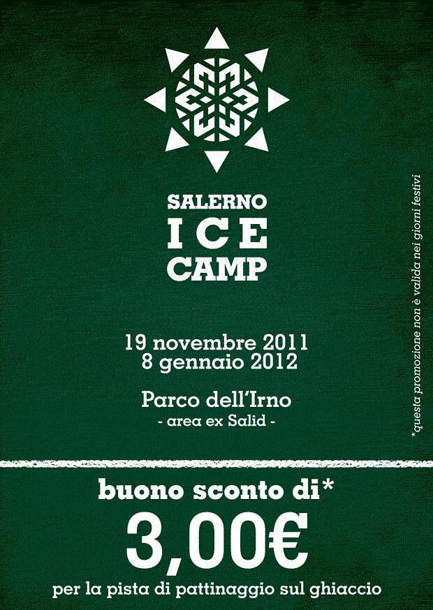 Buono sconto pista di pattinaggio sul ghiaccio Salerno Ice Camp 2011 2012