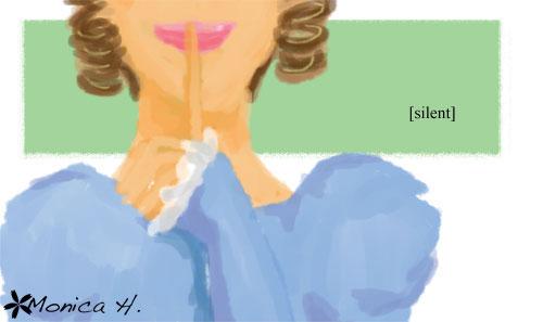 Illustration Friday: Silent