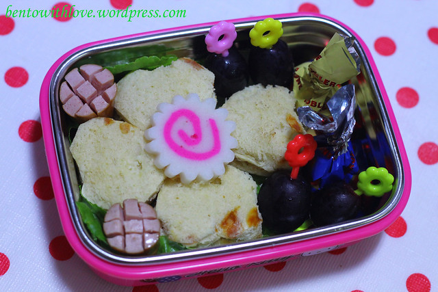 Flower Sandwich Bento