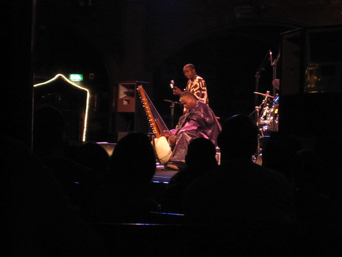 Toumani Diabate onstage at Union Chapel