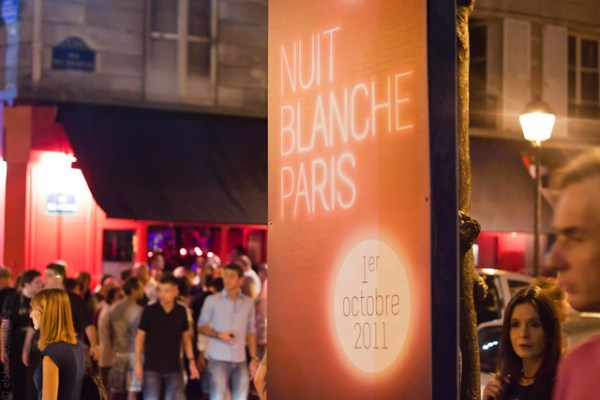 275/365 Nuit Blanche Paris #mostly365