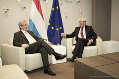 Meeting of President of the European Council, ...