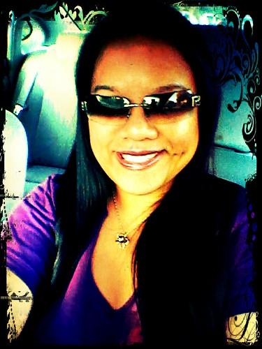 Me in purple