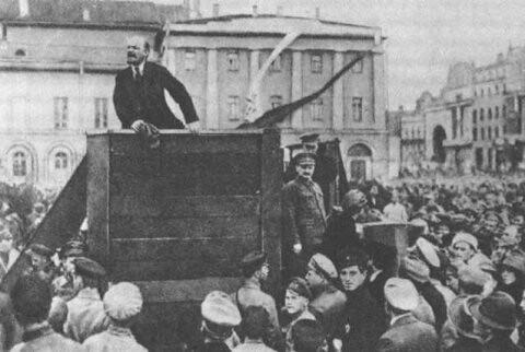 Revolución rusa octubre 1917