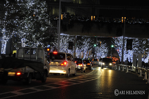 Roppongi Hills Christmas lights 六本木ヒルズ